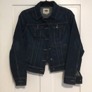 Old Navy Dark Jean Jacket XS